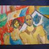 Figurative malerei, Ölmalerei, Malerei, Paar