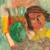 Malerei, Ölmalerei, Freie malerei, Fantasieporträts