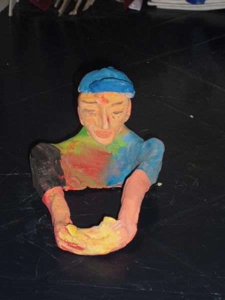Tonskulptur, Skulptur, Plastik