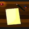 Tisch, Kerzen, Holz, Blätter