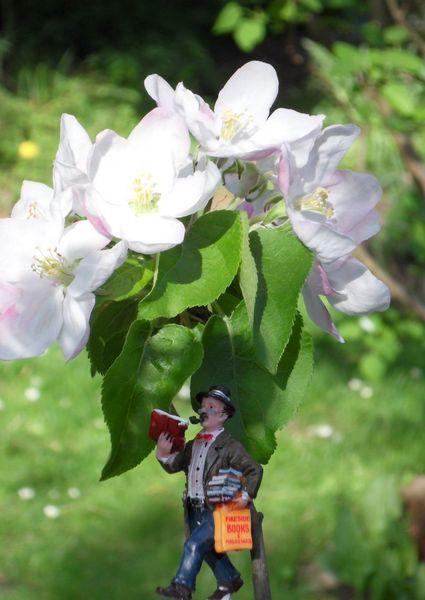 Miniaturfiguren, Frühlingsgefühle, Fotografie