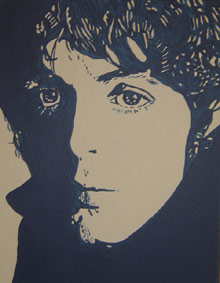Cartney, Pop, Acrylmalerei, Malerei, Portrait,
