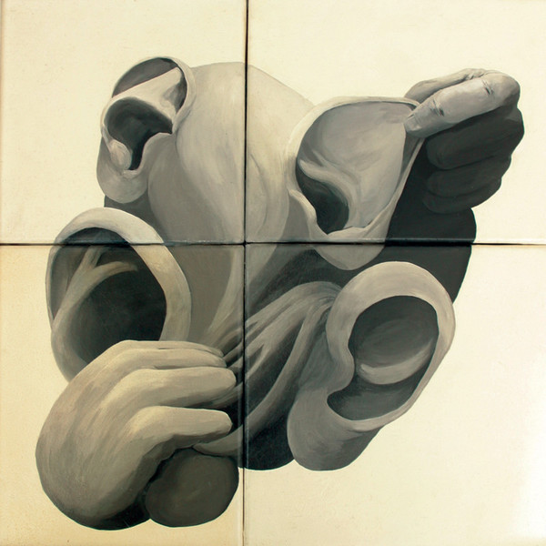 Schwarzweiß, Acrylmalerei, Malerei