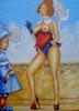 Zwerg, Akt, Fantasie, Gemälde