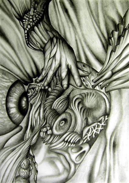 Surreal, Universum, Zeichnungen,