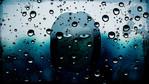 Regen, Gesicht, Tropfen, Wasser