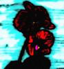 Blumen, Orchidee, Zeichnungen, Abstrakt