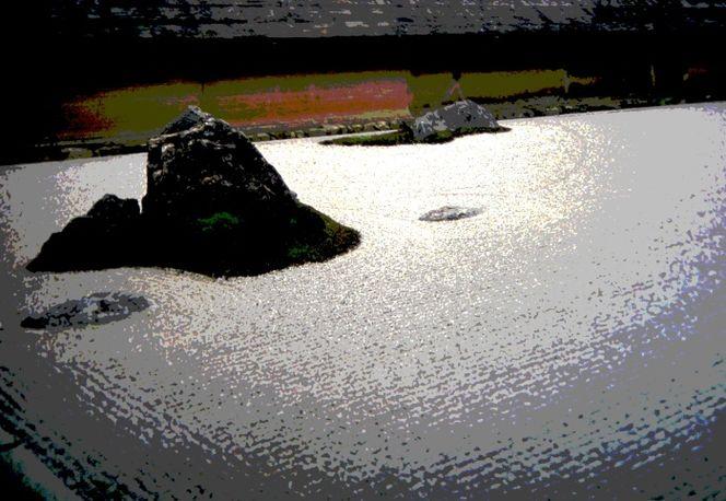 Garten, Buddhismus, Japan, Gardens, Meditation, Japanisch