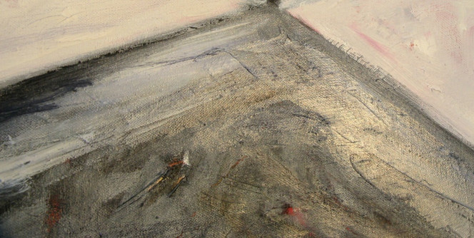 Malerei, Hamburg, Abstrakt, Vulcano,