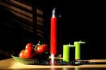 Kerzen, Rot, Grün, Licht