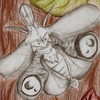 Mottte, Insekten, Käfer, Malerei