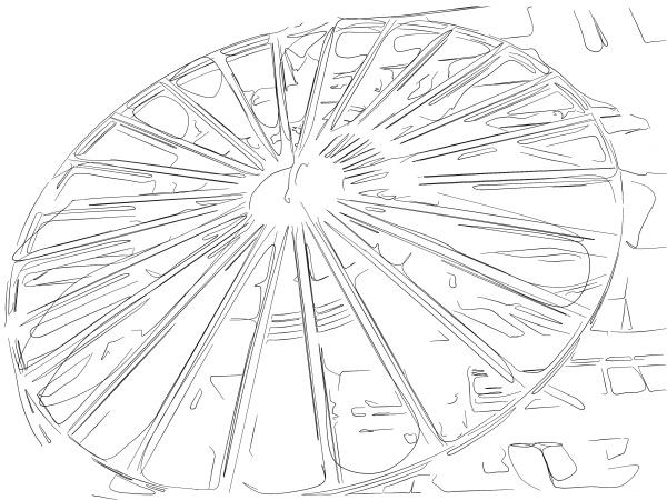 Kran, Hafen, Illustration, Hamburger, Zeichnung, Zeichnungen