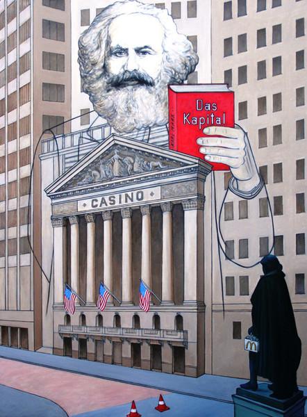 Kapital, Wirtschaft, Marx, Ökonomie, Straße, Geist