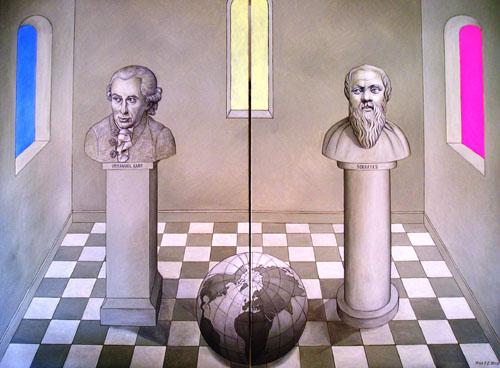Kant, Weltkugel, Philosophie, Sokrates, Globus, Vernunft