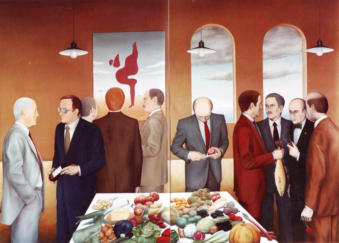 Anfang, Wirtschaft, Europa, Gemeinschaft, Politik, Malerei