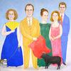 Stier, Hund, Capa, Familie