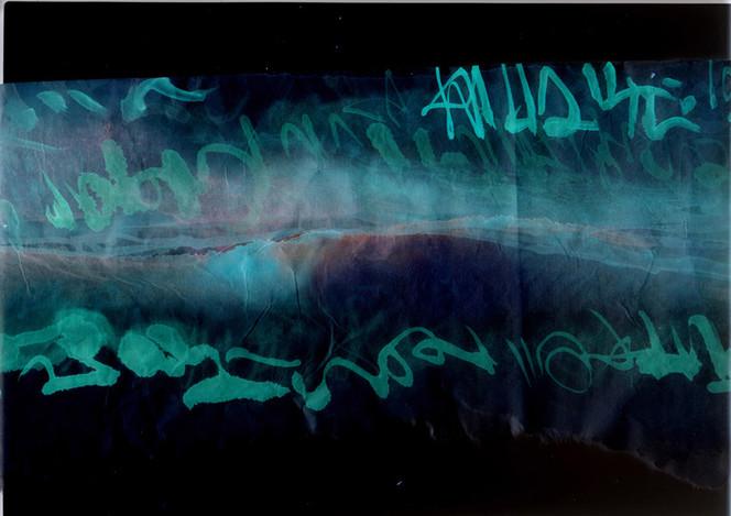 Aquarellmalerei, Türkis, Grafik