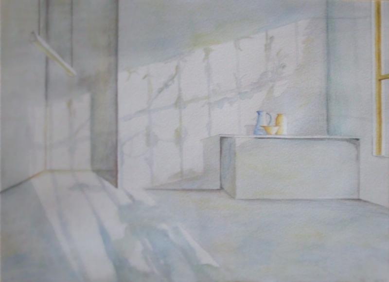 Bild hobbymalerei licht schatten malerei von hanspeter for 3d raum zeichnen