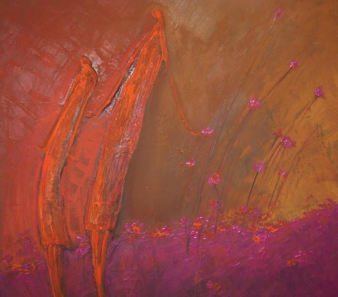 Pink, Malerei