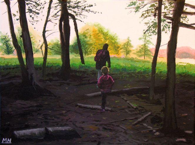 Unterholz, Gehölz, Wald, Baum, Natur, Herbst
