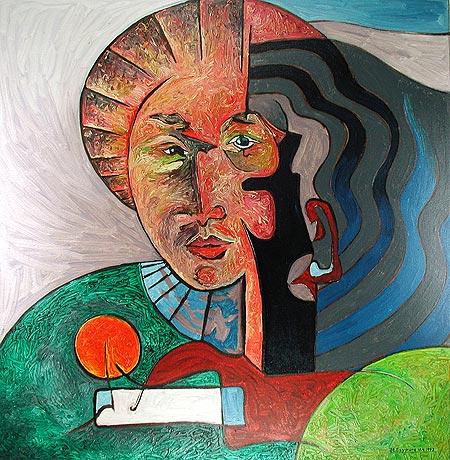 Sein, Geist, Multidimensionalität, Portrait, Humanismushuman, Psyche