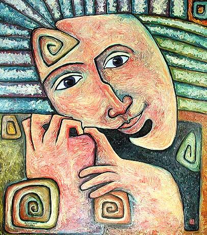 Portrait, Sein, Geist, Multidimensionalität, Humanismushuman, Psyche