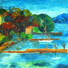 Acrylmalerei, Malerei, Sommer,