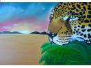 Himmel, Leopard, Raubtier, Wolken