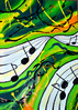 Malerei, Luft, Musik