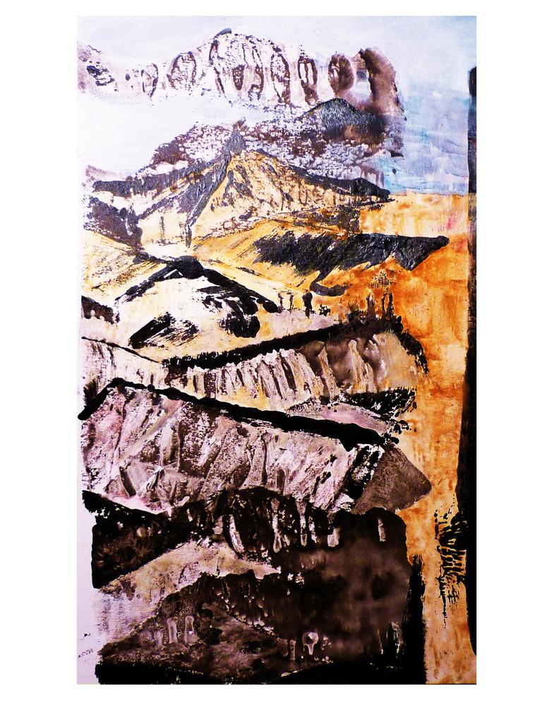 Mobel Frankreich Malerei : Bild dorf sùd frankreich malerei abstrakt von simone
