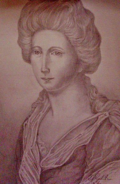 Zeichnungen, Portrait, Frauenportrait