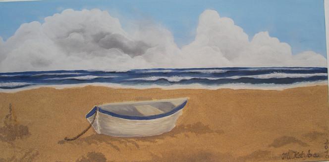 Himmel, Sand, Maritim, Strand, Meer, Wolken