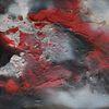 Passione, Malerei, Leidenschaft, Rot schwarz