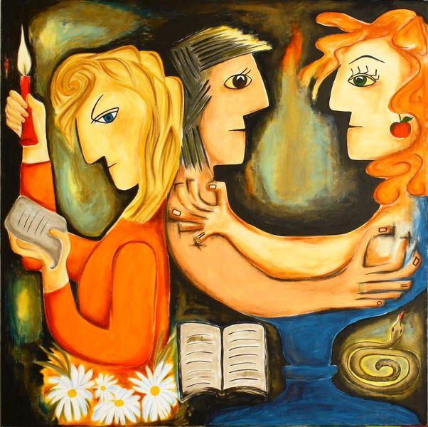 Malerei, Geheimnis