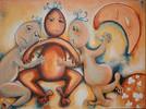 Malerei, Abstrakt, Kinder