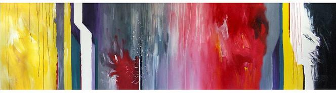 Abstrakt, Acrylmalerei, Gemälde, Groß, Hamburg, Malerei