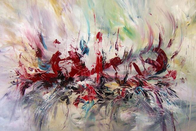 Acrylmalerei, Gemälde, Hamburg, Abstrakt, Malerei,