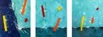 Gemälde, Abstrakt, Acrylmalerei, Malerei