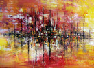 Abstrakt, Acrylmalerei, Gemälde, Groß