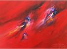 Abstrakt, Gemälde, Acrylmalerei, Groß
