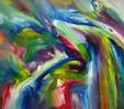 Abstrakt, Acrylmalerei, Gemälde, Hamburg