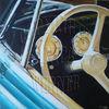 Auto, Oldtimer, Technik, Acrylmalerei