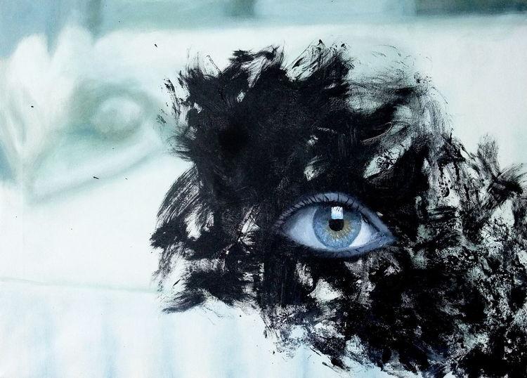 Aufwachen, Erleuchtet, Klar blicken, Erwachen, Malerei