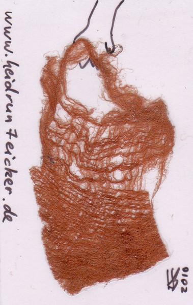 Taschenkunst, Rindenstoff, Zeichnungen