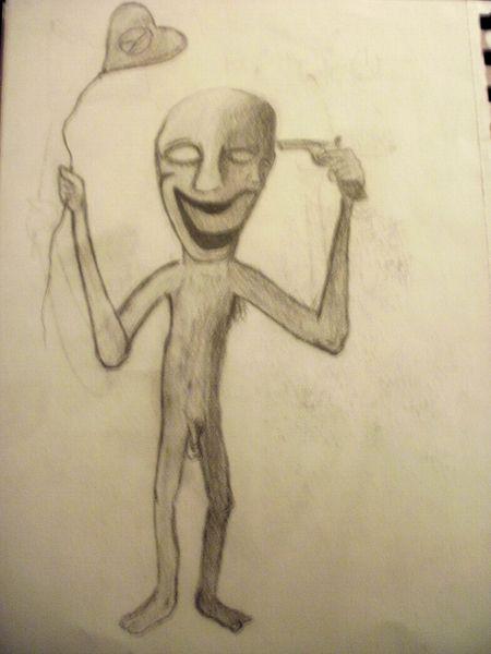 Tod, Abstrakt, Drogen, Psychische anstalt, Monster, Zeichnungen