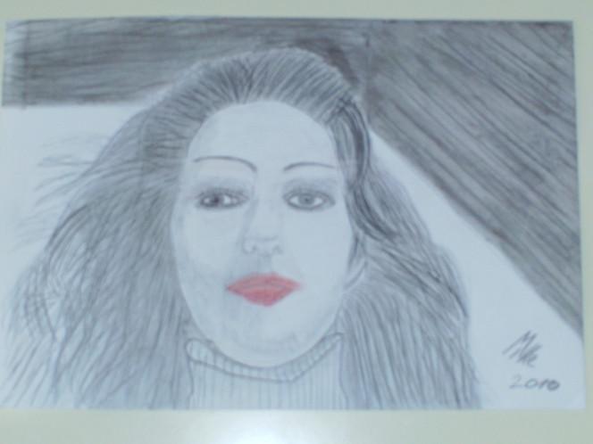 Reiz, Fau, Haare, Zeichnungen, Portrait,