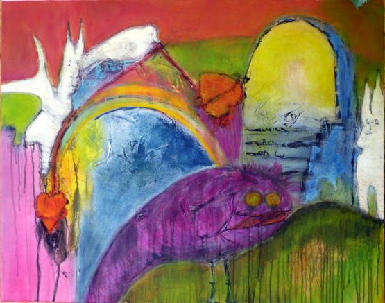 Vogel, Divo, Fantasie, Flügel, Herz, Hase