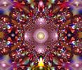 Unterirdisch, Pink, Digitale malerei, Psychedelisch