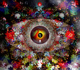 Psychedelisch, Seventies, Digitale malerei, Sixties