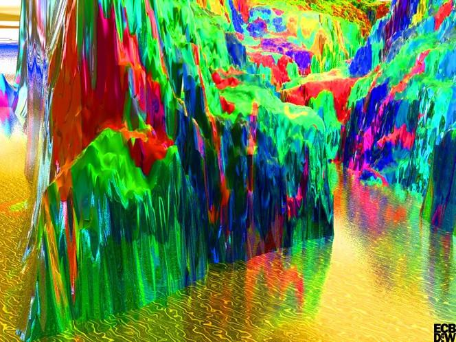 Philosophie, Clip, Digitale kunst, Flußlauf, Eingang,